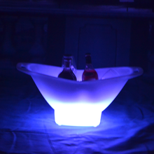 colors change outdoor LED Ice Bucket