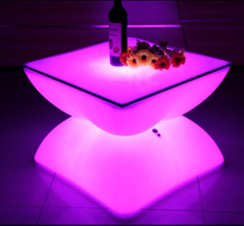 PE Battery Rechargeable LED Table