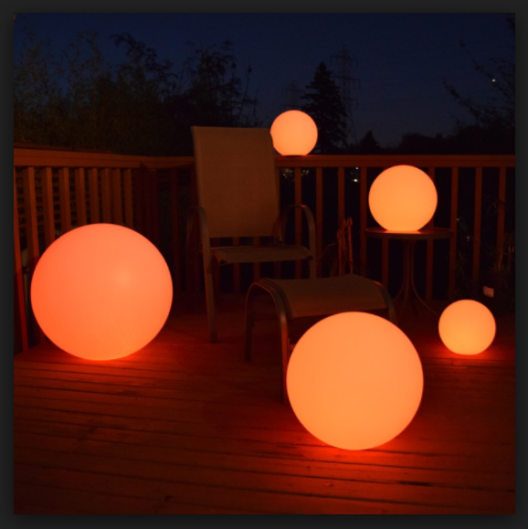 Waterproof Outdoor Led Round Ball Light