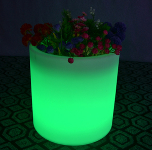 Light LED Flower Pot with 16 Color