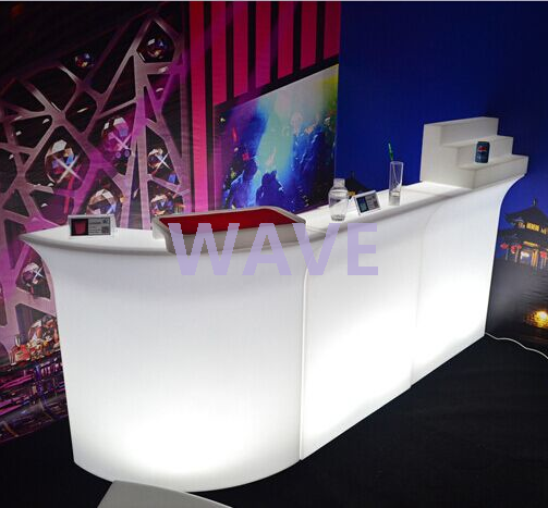battery 16 color change outdoor Portable LED Bar Counter