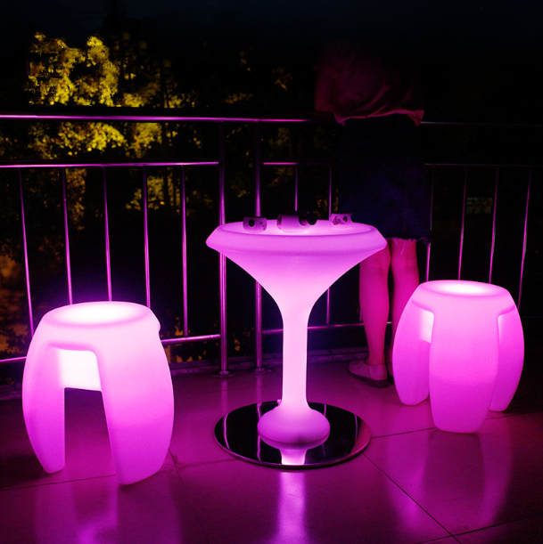 outdoor Single LED Stool for Nightclub