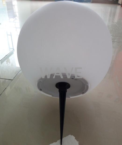 RGBW Waterproof outdoor solar led ball