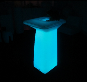 outdoor color change battery LED Portable Cocktail Tables