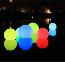 color change remote control waterproof led swimming pool ball