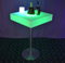 outdoor Lighted LED Cocktail Table with Remote Control